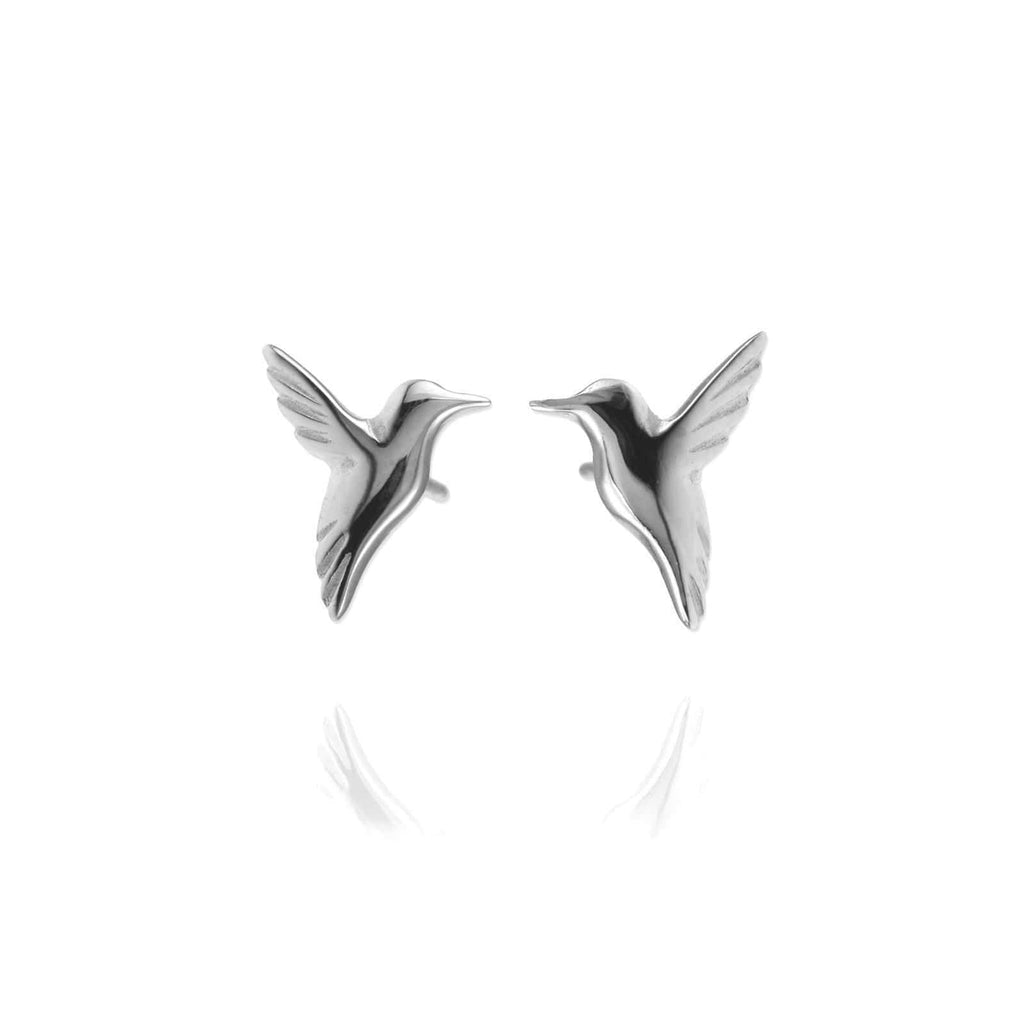 Hummingbird Ear Studs - Jana Reinhardt Ltd - 1