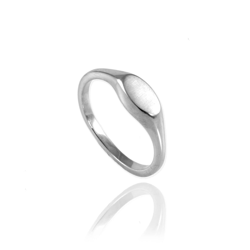 Ellipse Signet Ring - Jana Reinhardt Ltd - 1