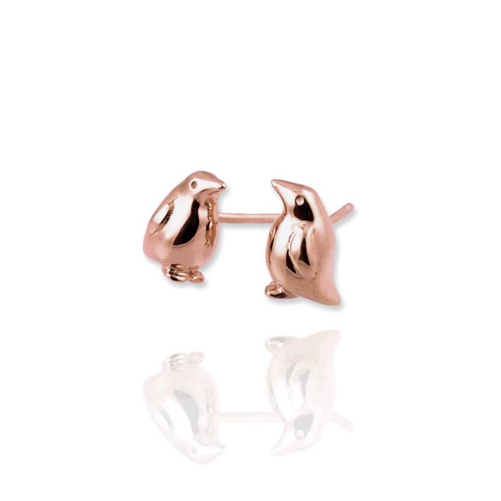 Penguin Stud Earrings - Jana Reinhardt Ltd - 5