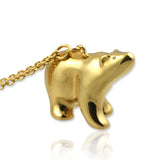 Polar Bear Pendant Necklace - Jana Reinhardt Ltd - 5