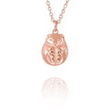 Hibernating Hedgehog Necklace - Jana Reinhardt Ltd - 1