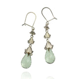 Rock Flower Drop Earrings - Jana Reinhardt Ltd - 4
