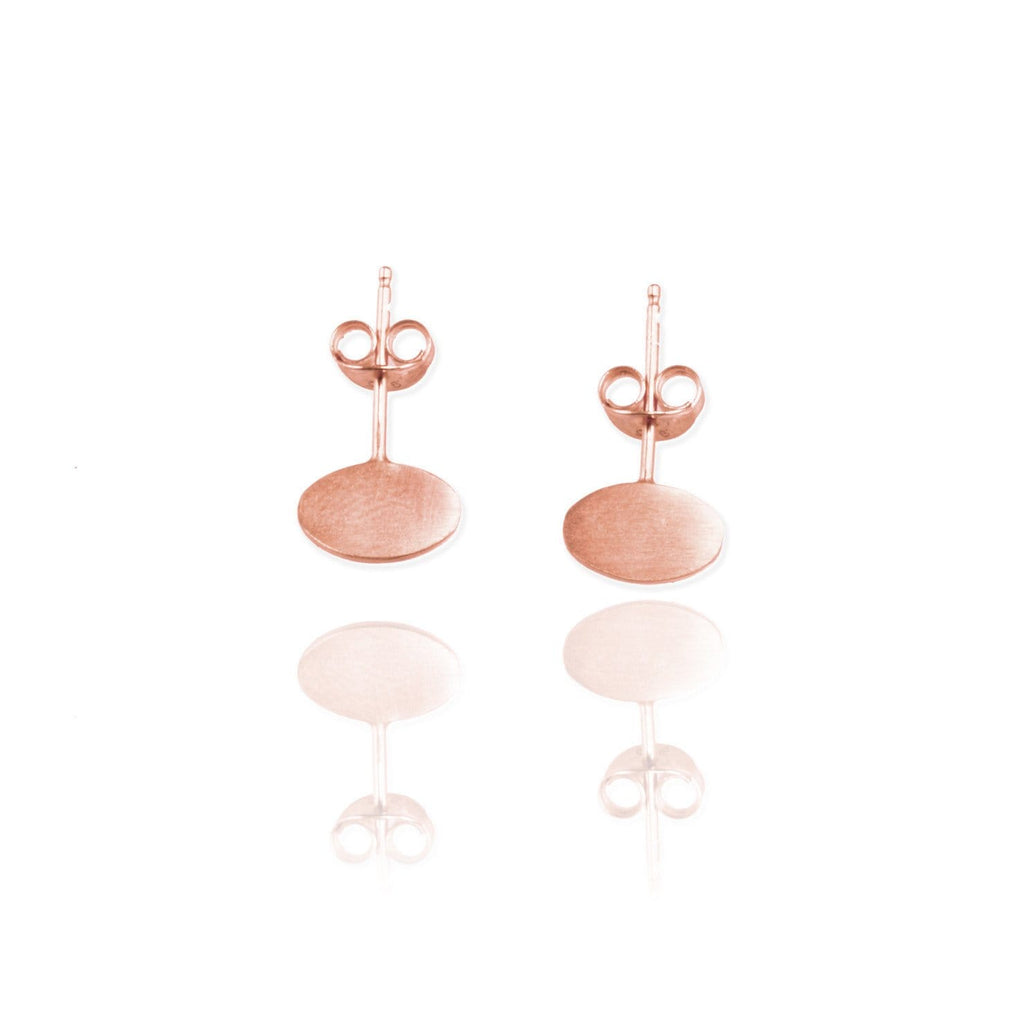 Single Ellipse Ear Studs - Jana Reinhardt Ltd - 3