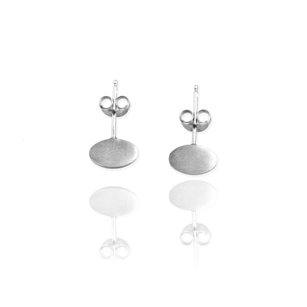 Single Ellipse Ear Studs - Jana Reinhardt Ltd - 1