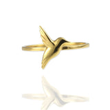 Tiny Hummingbird Ring - Jana Reinhardt Ltd - 3