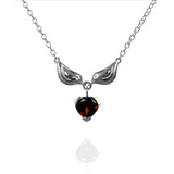 Silver Sparrow Heart Necklace - Jana Reinhardt Ltd - 1