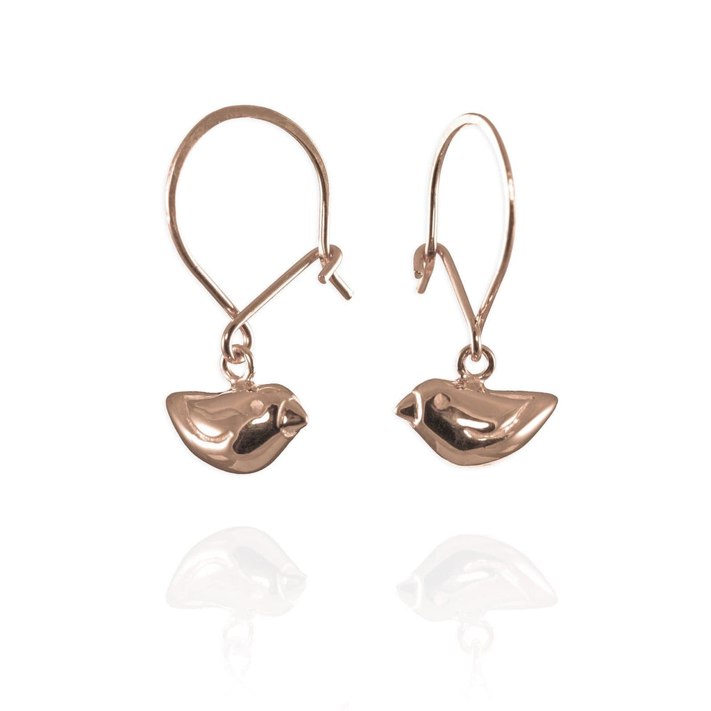 Tiny Sparrow Hook Earrings - Jana Reinhardt Ltd - 5