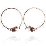 Gold Sparrow Hoop Earrings - Jana Reinhardt Ltd - 2