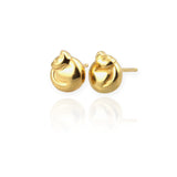 Cat Stud Earrings - Jana Reinhardt Ltd - 4