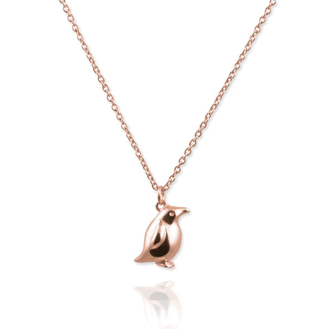 Tiny Penguin Necklace