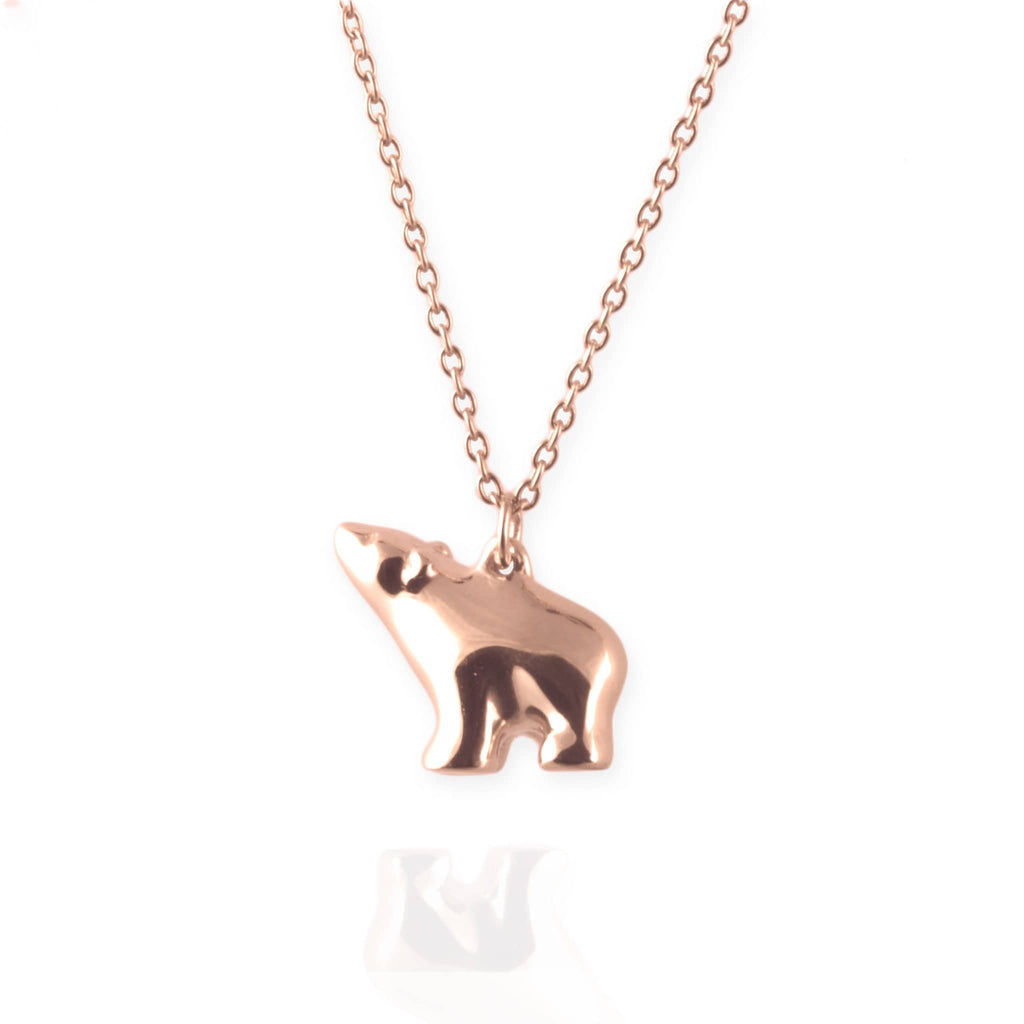 Tiny Polar Bear Necklace - Jana Reinhardt Ltd - 4