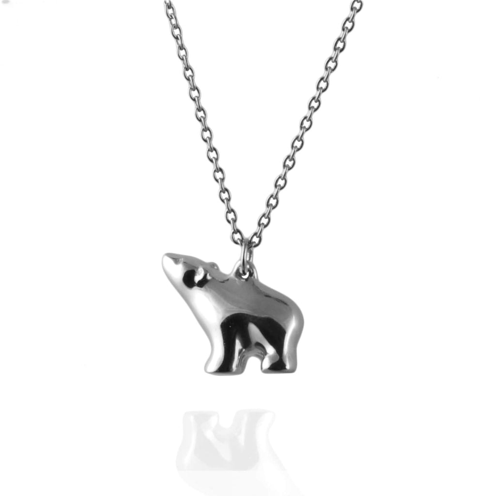 Tiny Polar Bear Necklace - Jana Reinhardt Ltd - 2