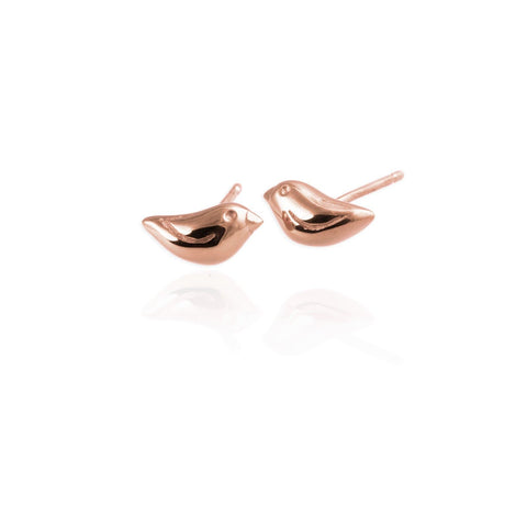 Tiny Sparrow Ear Studs