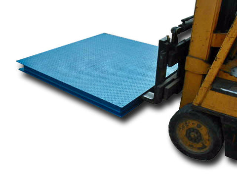 Portable Platform Scale with Forklift Guides - Up to 3,000kg