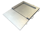Stainless Steel Low Profile Scale with 1 ramp (Built-in or separate)