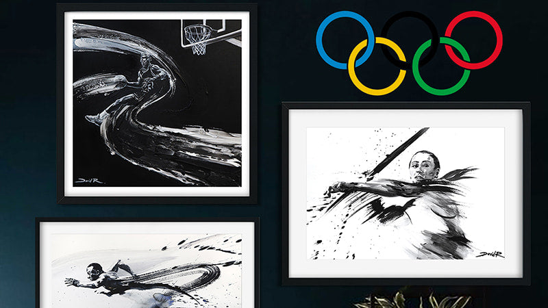 Artworks to get you in the mood for the 2021 Tokyo Olympics
