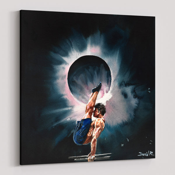 david roman art 11 paintings that will inspire you to just move gymnast sports art