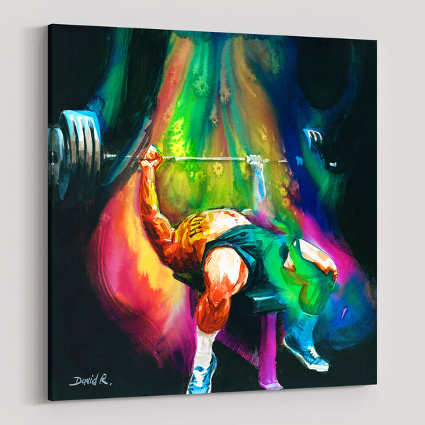 david roman art 11 paintings that will inspire you to just move powerlifting sports movement art