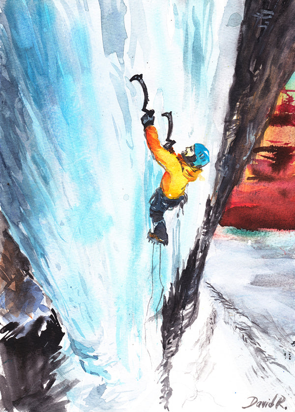 #071 of JUST MOVE | Ice Climbing
