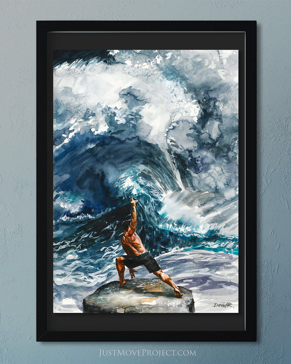 Original Painting #385 of JUST MOVE | Conducting an Orchestra of Ocean Waves