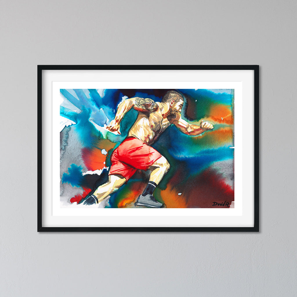 Mat Fraser | Limited Edition Print