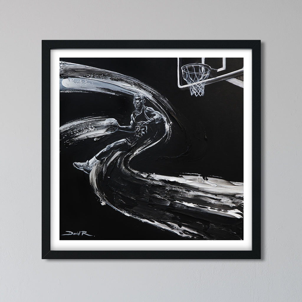 Michael Jordan in Flight | Limited Edition Print