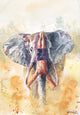 #226 of JUST MOVE | Handstand on an Elephant Painting