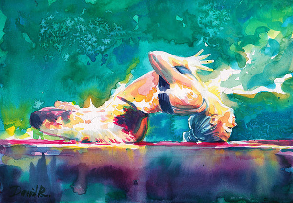 #181 of JUST MOVE | Yoga Flow Painting