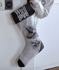 DAVID FUSSENEGGER - FESTIVE GREY CHRISTMAS STOCKING -  - CHRISTMAS STOCKING - THE HOUSE JAR - 1