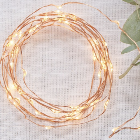 COPPER WIRE BATTERY LIGHTS