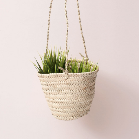 HANGING PALM BASKET