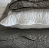 BIGGIE BEST LARGE WHITE CUSHION SHAM COVER