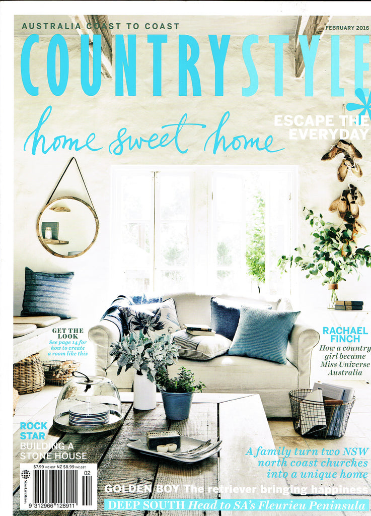 Country Style Feb 2016 Cover