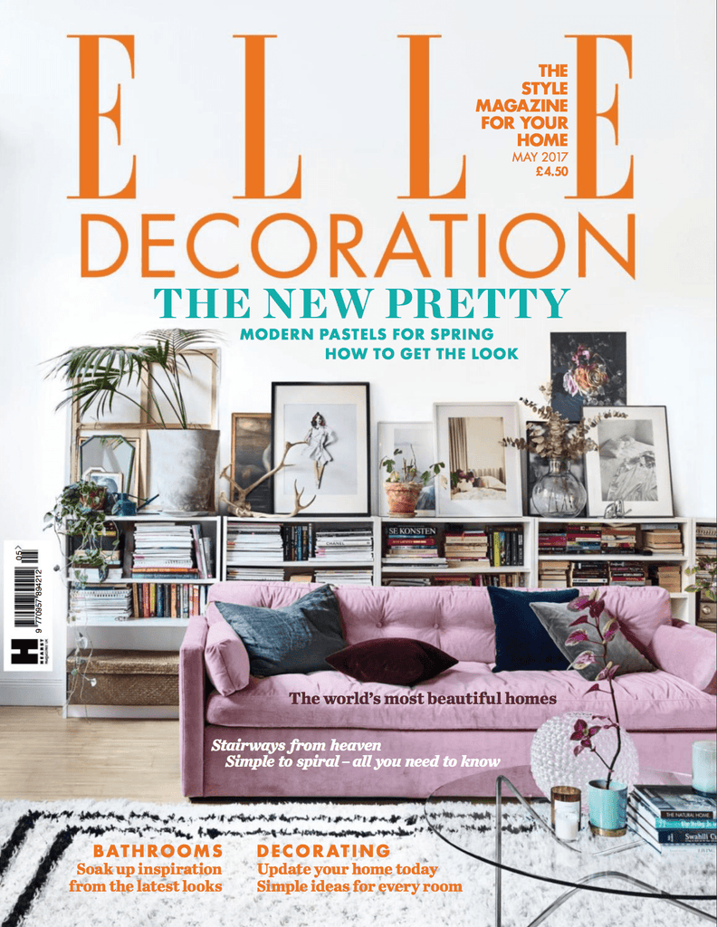 Elle Decoration May 2017 Cover