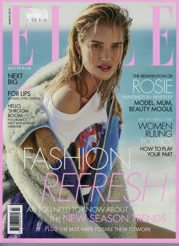 Elle Australia March 2019 Cover