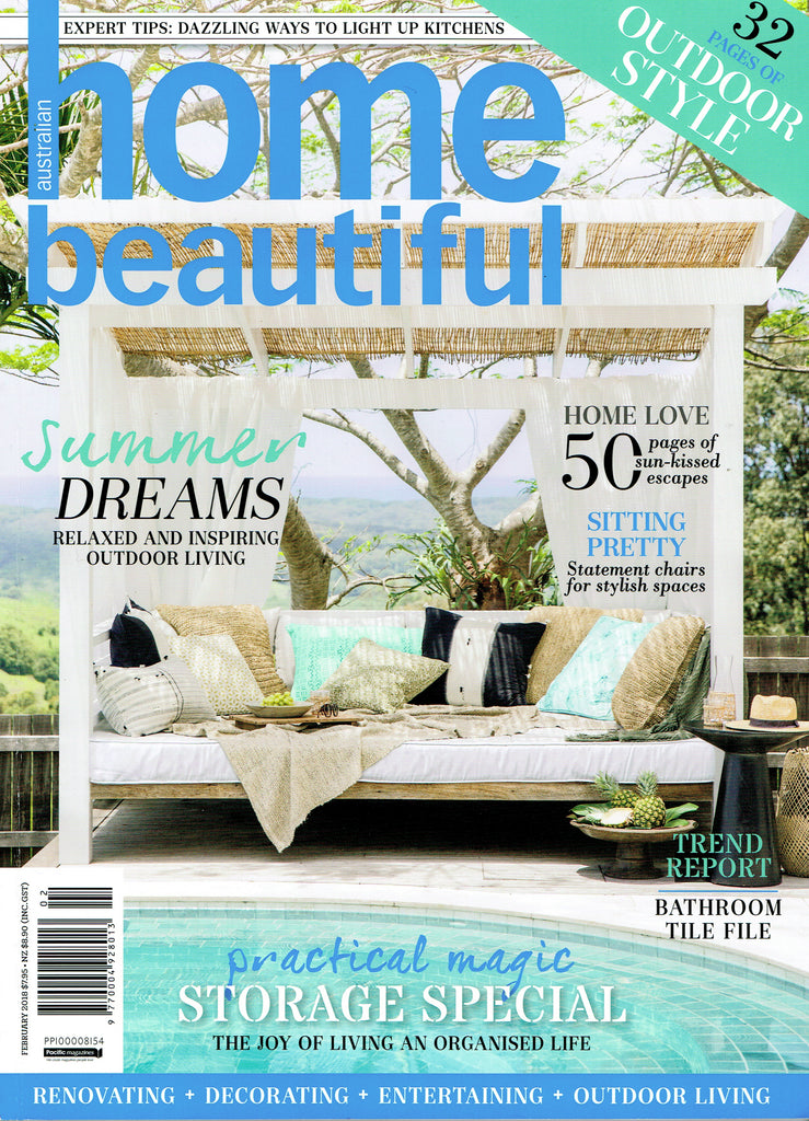 Home Beautiful February 2018 Cover