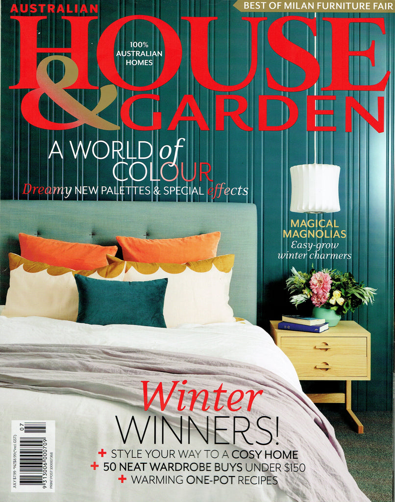 House and Garden July 2018 Cover