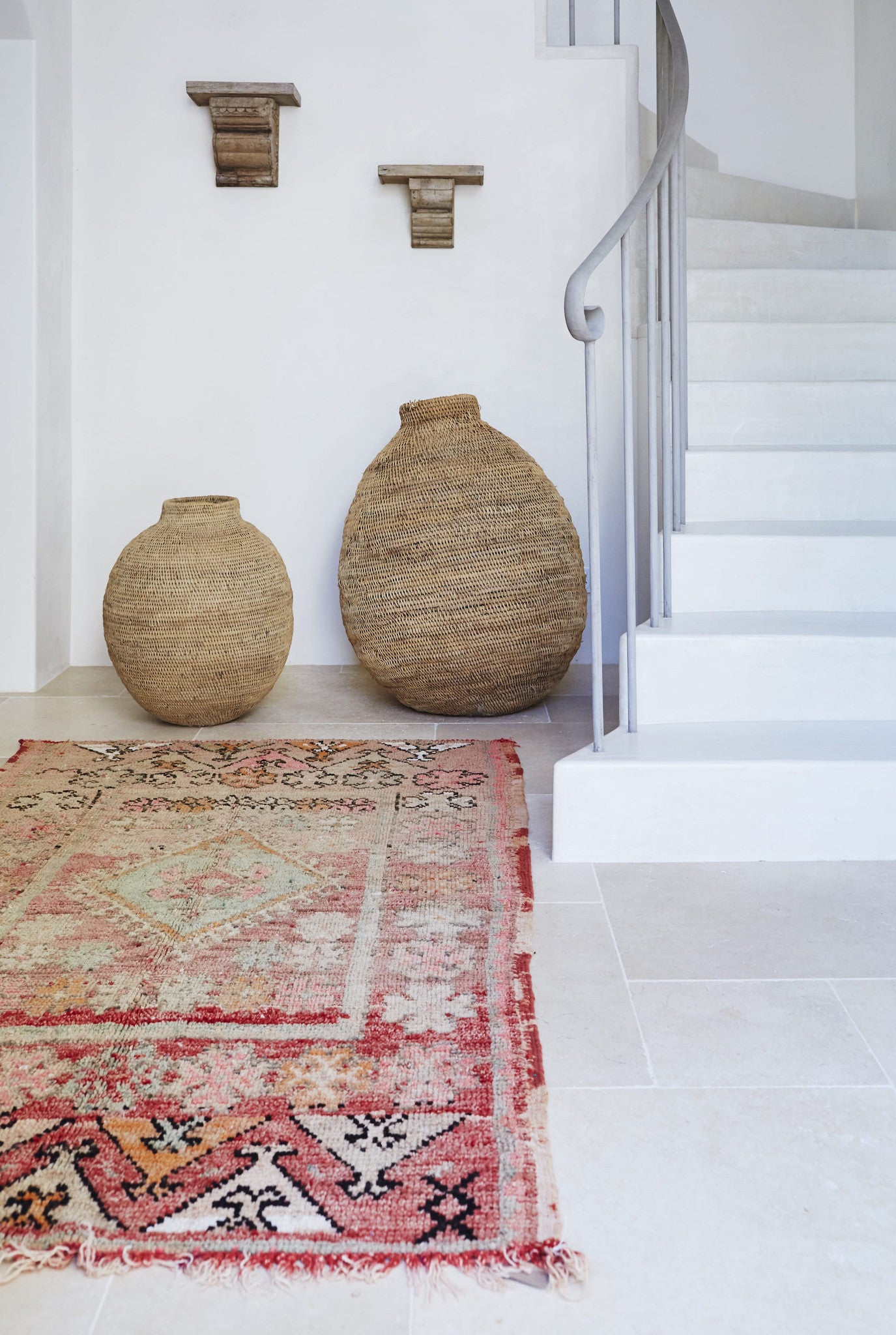 Moroccan Rugs and Basket Byron Bay