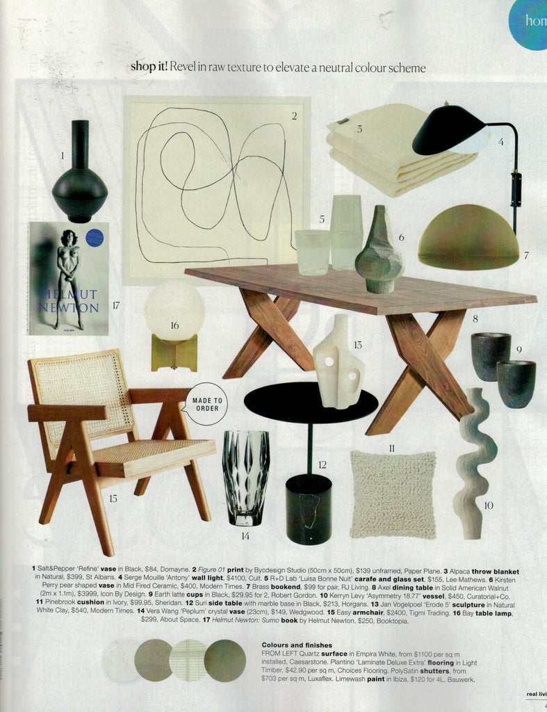 Pierre Jeanneret Easy Armchair from Tigmi Trading featured in Real Living August 2019