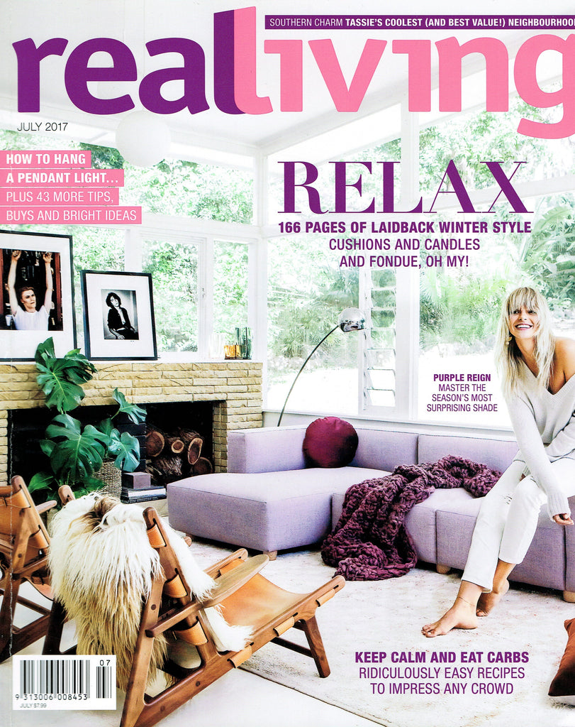 Real Living July 2017 Cover