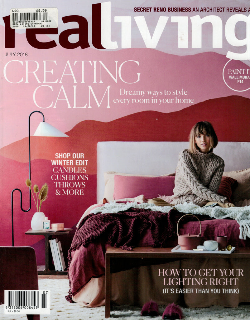 Real Living July 2018 Cover