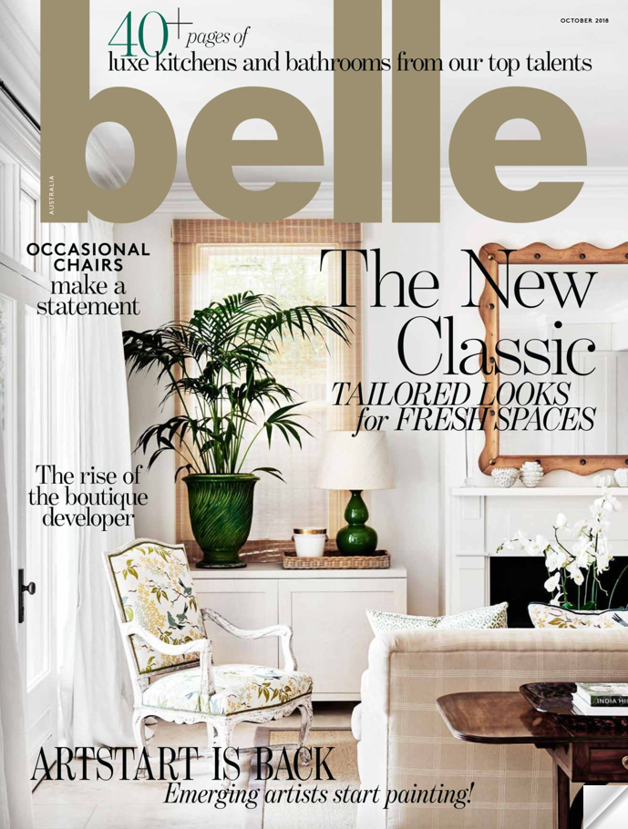 Belle October 2018 Cover