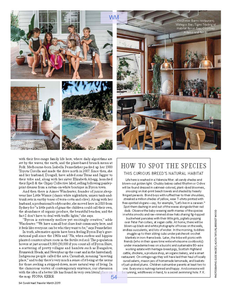 Conde Nast Traveler March 2019 Page 54