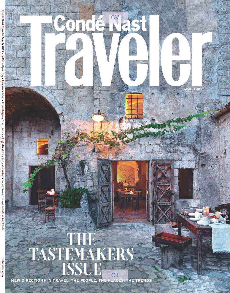 Conde Nast Traveler March 2019 Cover