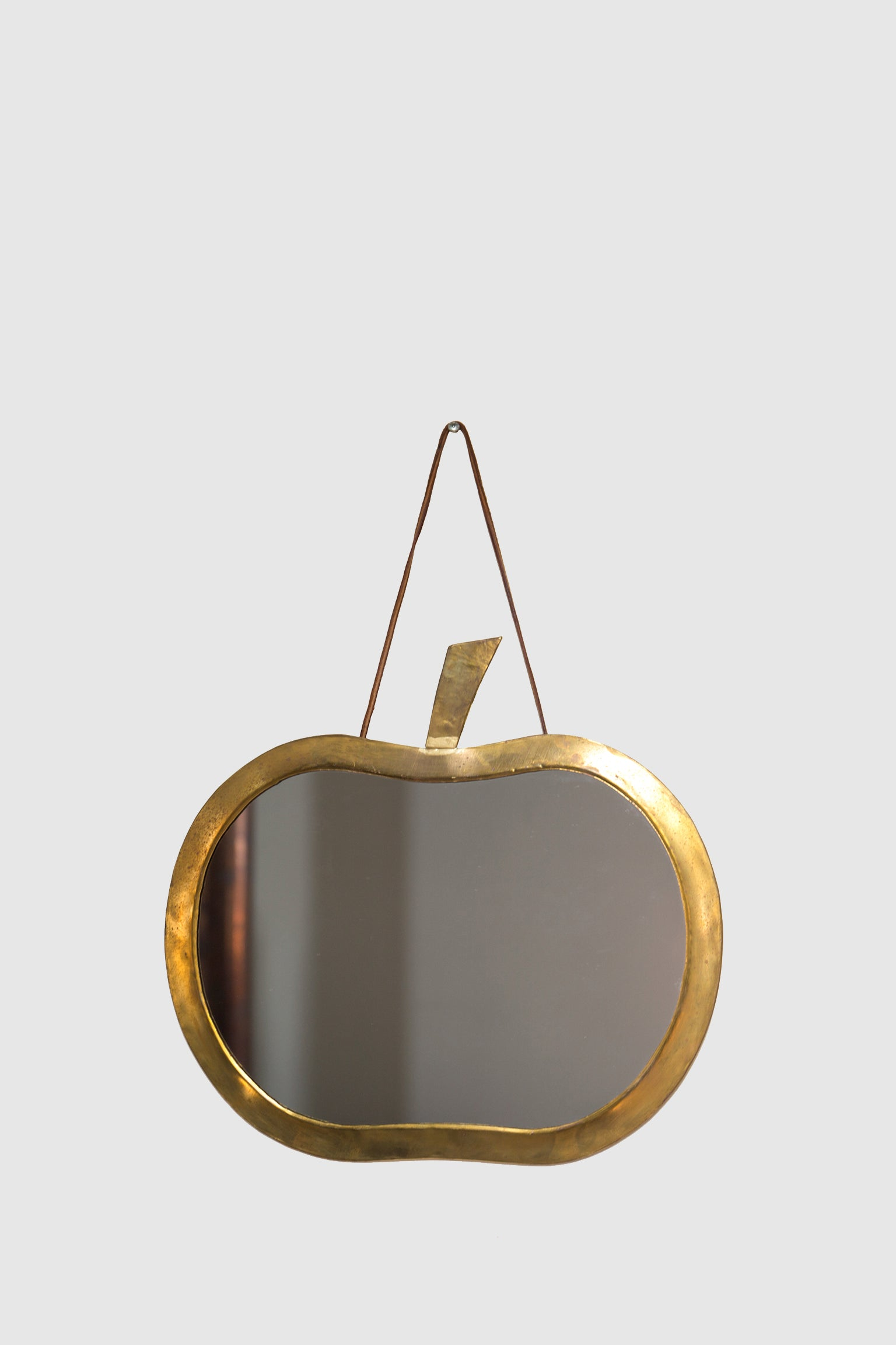 Brass Apple Mirror