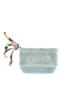 Lalla Clutch - Blue Gris S