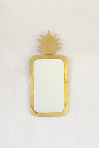 Brass Pineapple Mirror