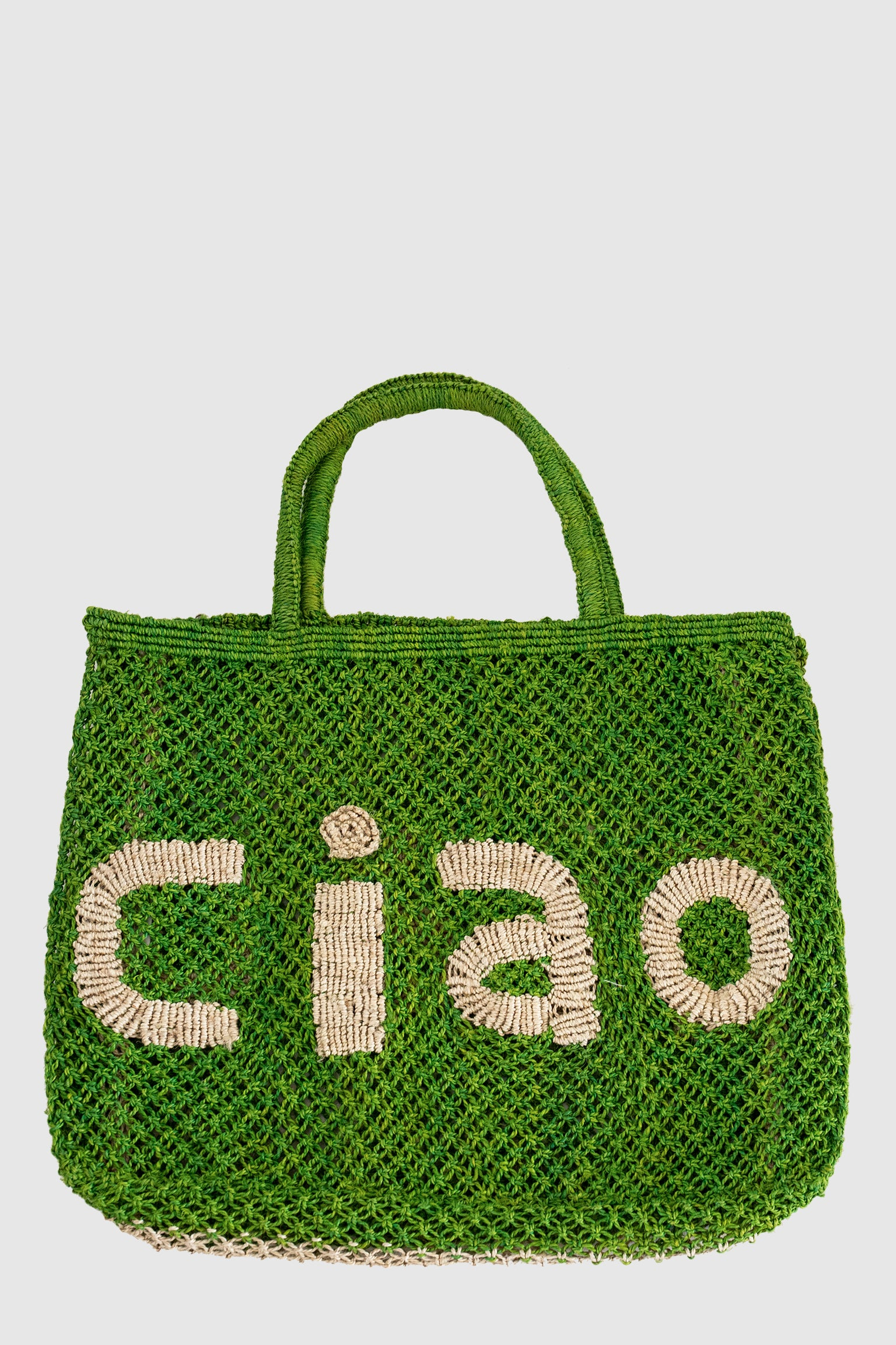 Ciao Jute Bag - Apple/Natural