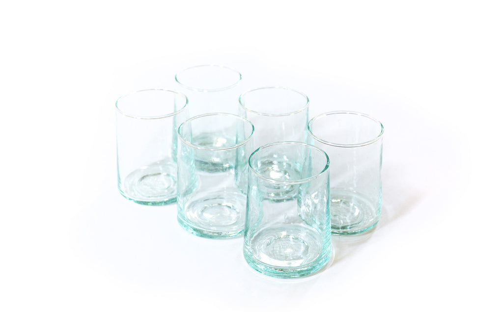 Beldi Glass - Contemporary Clear Short