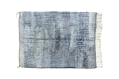 Beni Ourain Rug New Australia Moroccan Handwoven Blue Ivory